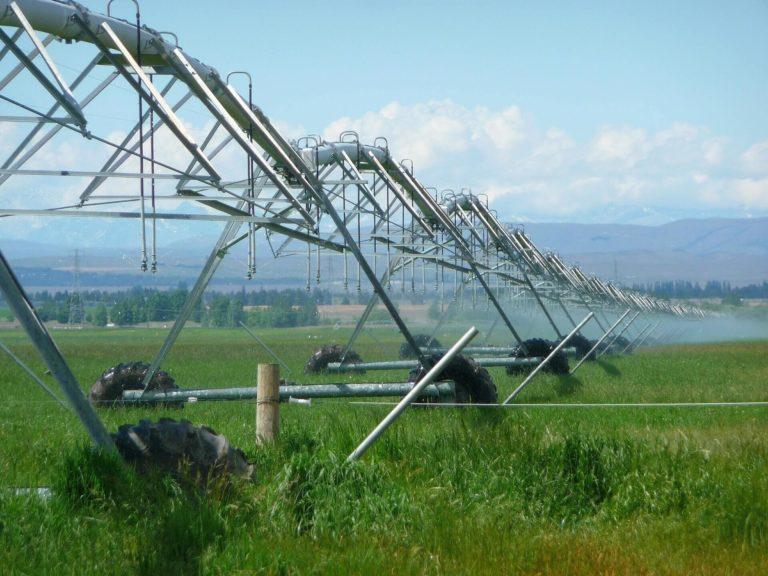 Visuel irrigation dans l'agriculture
